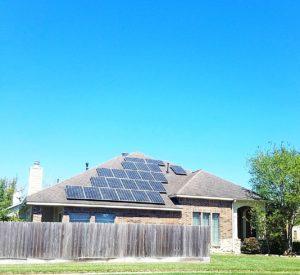 Small Residential Solar system