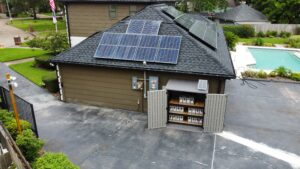 Solar Home With Extended Battery Storage