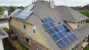 Bifacial Solar Setup With Battery Storage, Richmond, Texas, USA